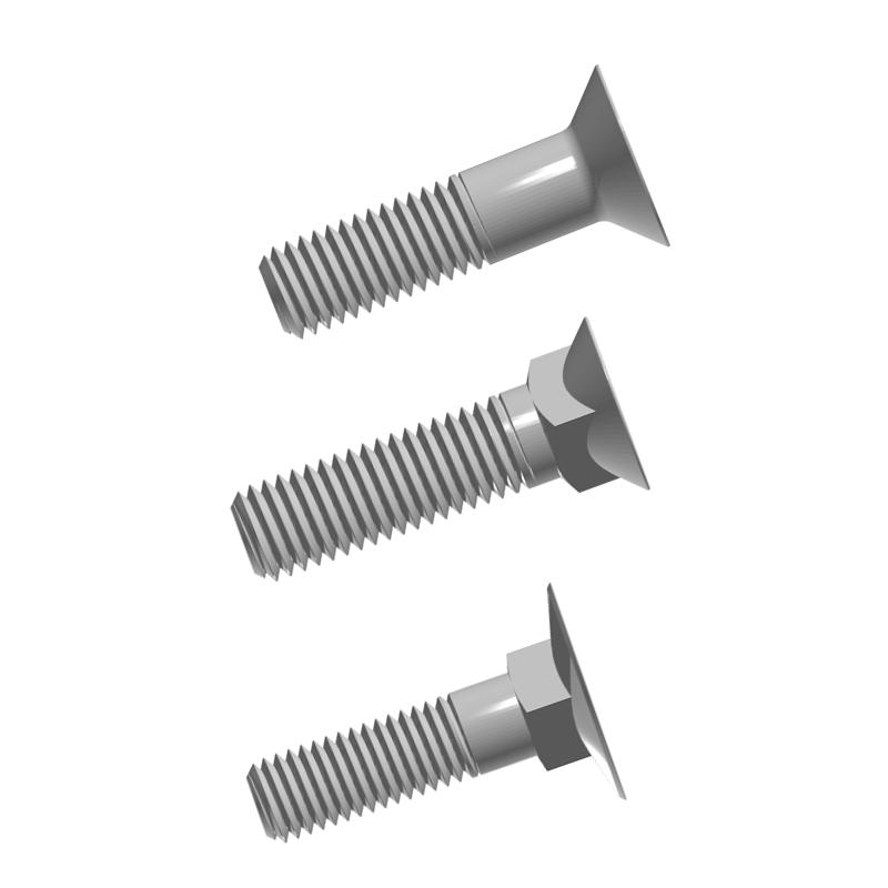 countersunk bolt